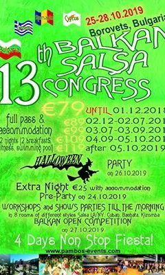 13th Balkan Salsa Congress
